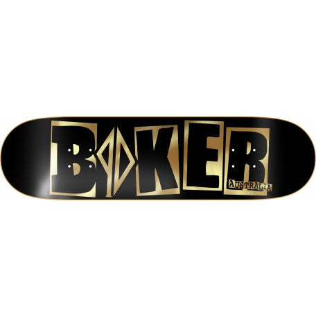 Baker PD Deck OZ Black & Gold