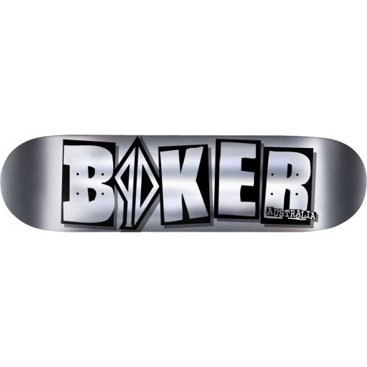 BAKER PD BRAND NAME CHROME DECK 8.0""