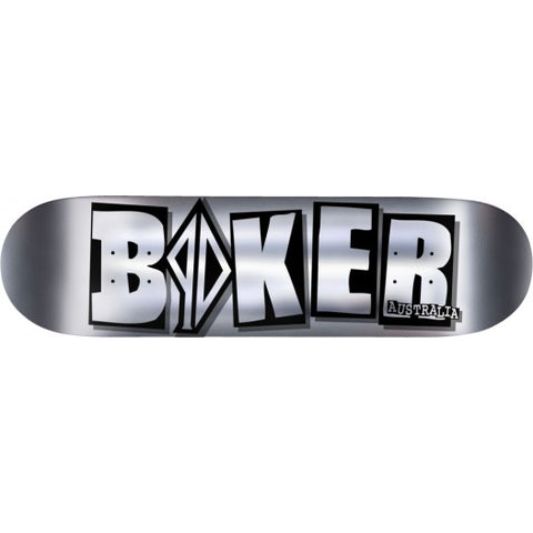 BAKER SKATEBOARDS PD ICON CHROME DECK