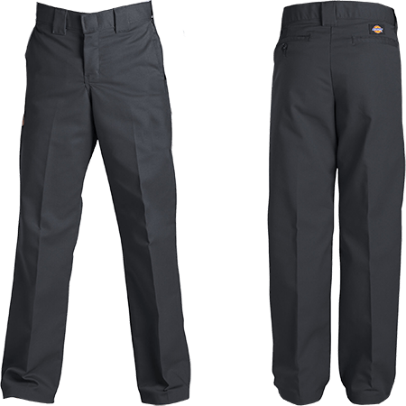 DICKIES FLEX SLIM FIT PANTS BLACK