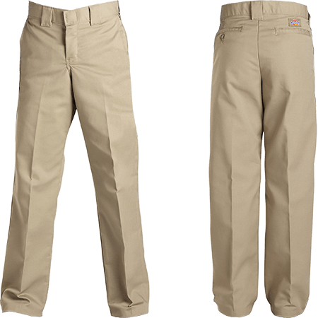 DICKIES FLEX SLIM FIT KHAKI PANTS