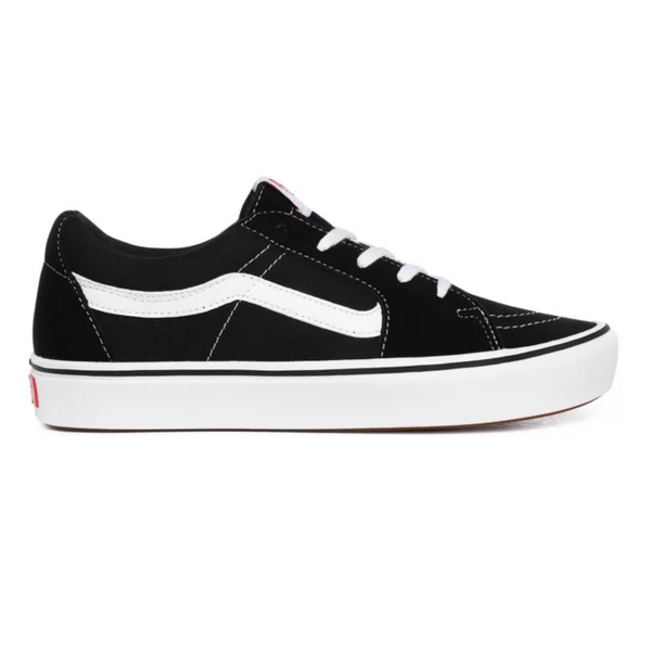 VANS SK8-LOW BLACK/WHITE