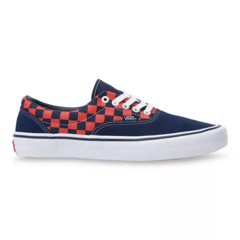VANS ERA PRO CHECKERBOARD NAVY/ORANGE
