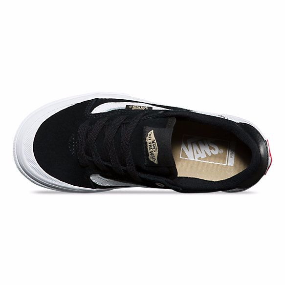VANS SHOES 112 KIDS BLACK/WHITE