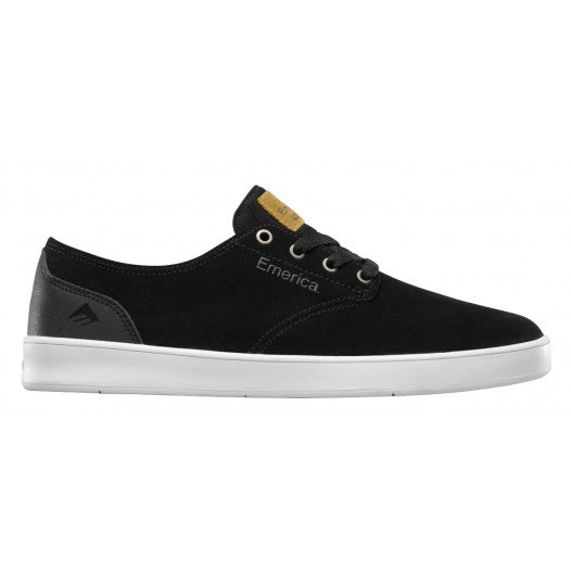 EMERICA ROMERO LACED BLACK/BLACK/WHITE