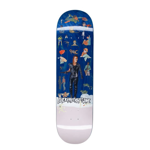 FUCKING AWESOME BERLE SOCIAL STUDIES PRO DECK 8.5""