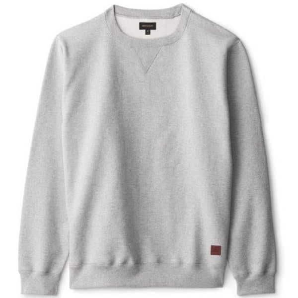 BRIXTON LONGMAN II RESERVE CREW HEATHER GREY
