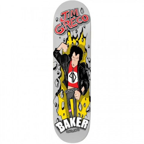 Deathwish Baker Jim Greco First Pro Model Deck 8.25""