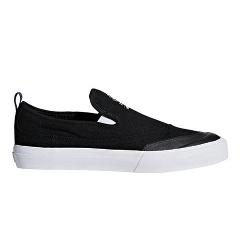 ADIDAS MATCHCOURT SLIP ON BLACK/WHITE