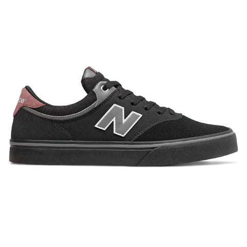 NEW BALANCE NUMERIC NM255 BLACK/BURGUNDY