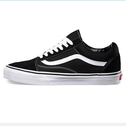 VANS OLD SKOOL KIDS BLACK/WHITE
