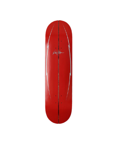 POOLROOM HANG LOOSE RED 8""