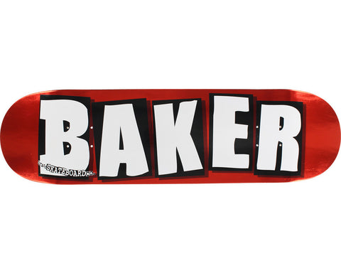 BAKER LOGO RED FOIL 8""