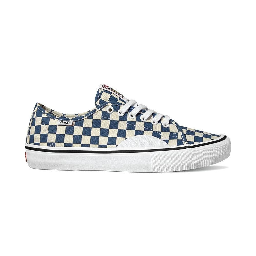 VANS AV CLASSIC PRO CHECKERBOARD DARK DENIM/WHITE