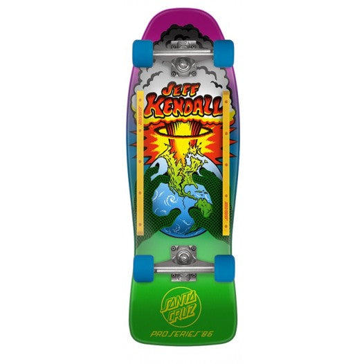 SANTA CRUZ KENDALL END OF THE WORLD CRUZER COMPLETE 10""