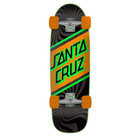 "SANTA CRUZ BLACK/ORANGE 8.79"" COMPLETE CRUISER"