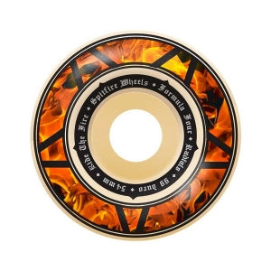 SPITFIRE FORMULA FOUR RADIAL HELL FIRE WHEELS 99 DURO 56MM