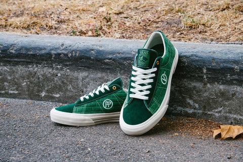 PASS~PORT X VANS SID PRO COLLAB SHOE GREEN
