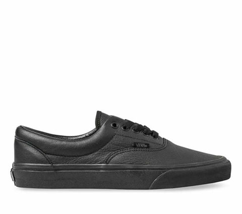 VANS ERA LEATHER BLACK/BLACK