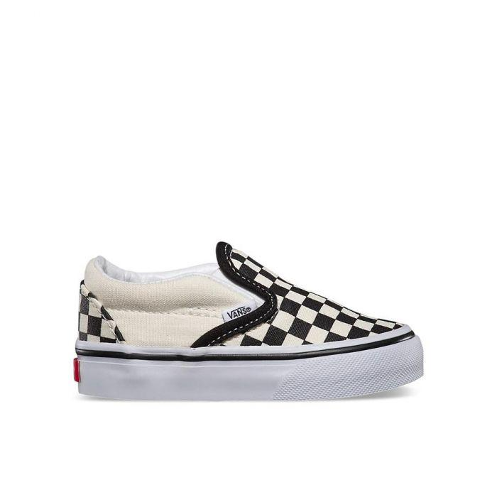 VANS TODDLERS CHECKERBOARD SLIP-ON
