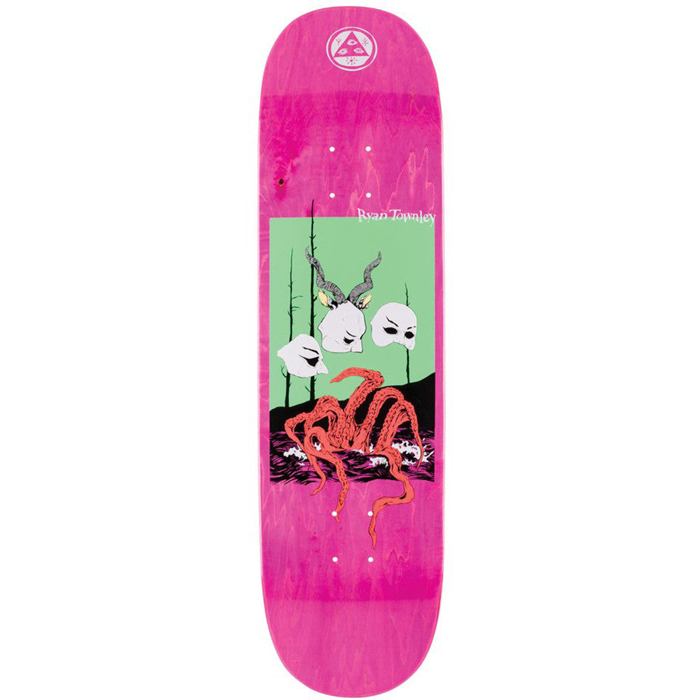 WELCOME MASQUERADE ON ENENRA RYAN TOWNLEY PRO MODEL DECK 8.5""