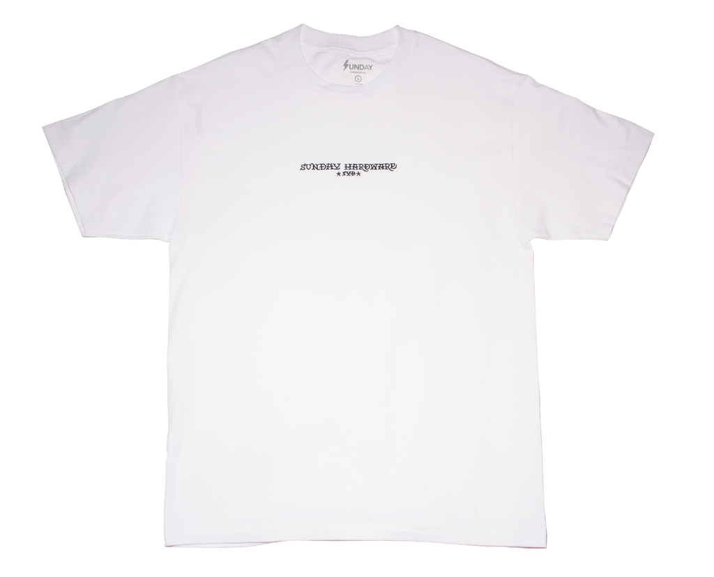 SUNDAY HARDWARE *SYD* EMBROIDERED T-SHIRT