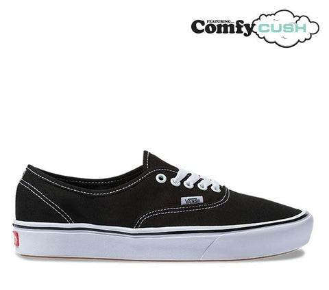 VANS COMFYCUSH AUTHENTIC BLACK/WHITE