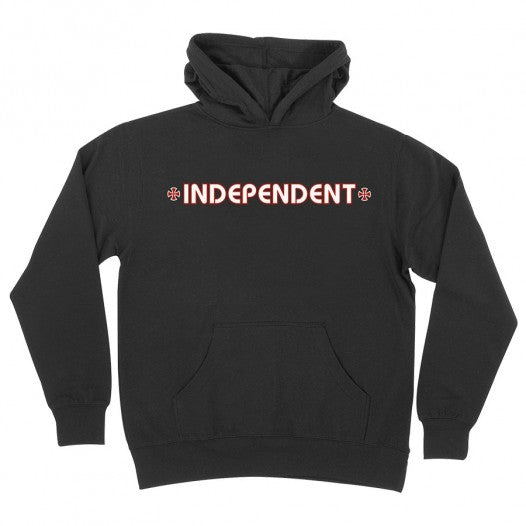 INDEPENDENT BAR CROSS YOUTH HOODIE BLACK