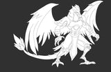 Dragoon the aarakocra
