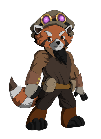 Gadget the Red Panda