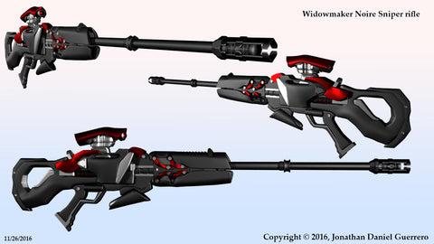 Widowmaker Noire Sniper Rifle