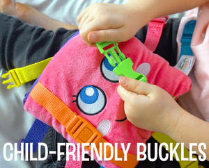 Buckle Toy Pillow Buddy Montessori