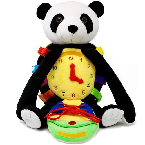 Bamboo Panda-Buckle Toys-Bamboo Panda Backpack | Toddler Backpack-Buckle Toy Inc
