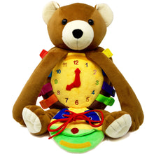 Load image into Gallery viewer, Billy Bear Backpack-Buckle Toys-Billy Bear Backpack | Toddler Backpack-Buckle Toy Inc