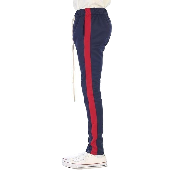 EPTM Track Pants - Navy/Red