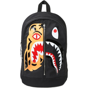 Bape Tiger Shark Day Pack - Black