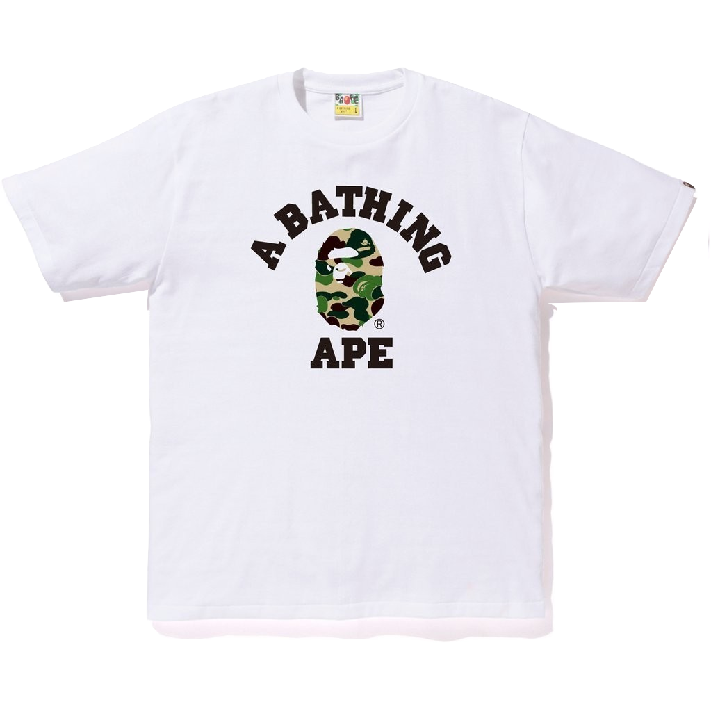 A Bathing Ape College Tee - Camo