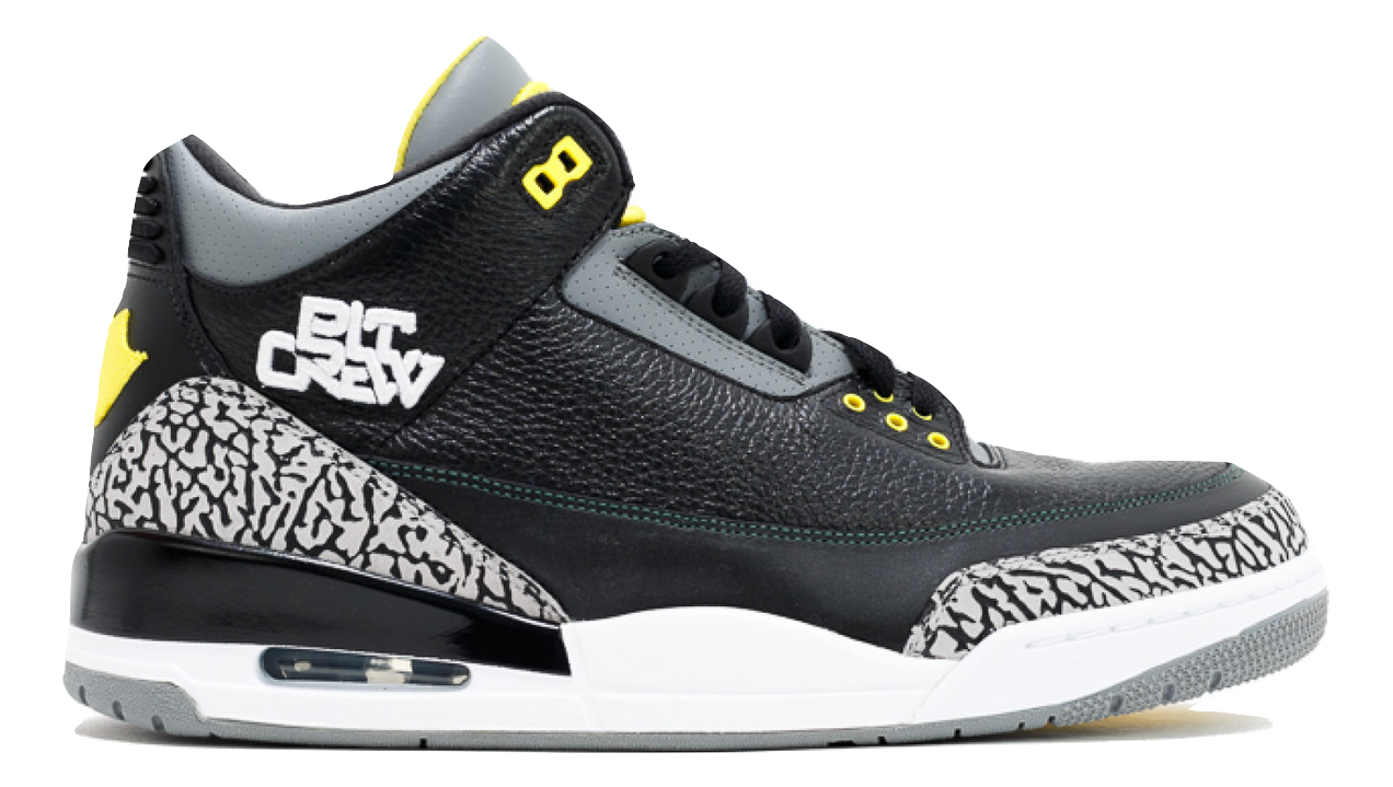 Air Jordan 3 - Oregon Pit Crew