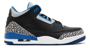 Air Jordan 3 Retro - Sport Blue - Used