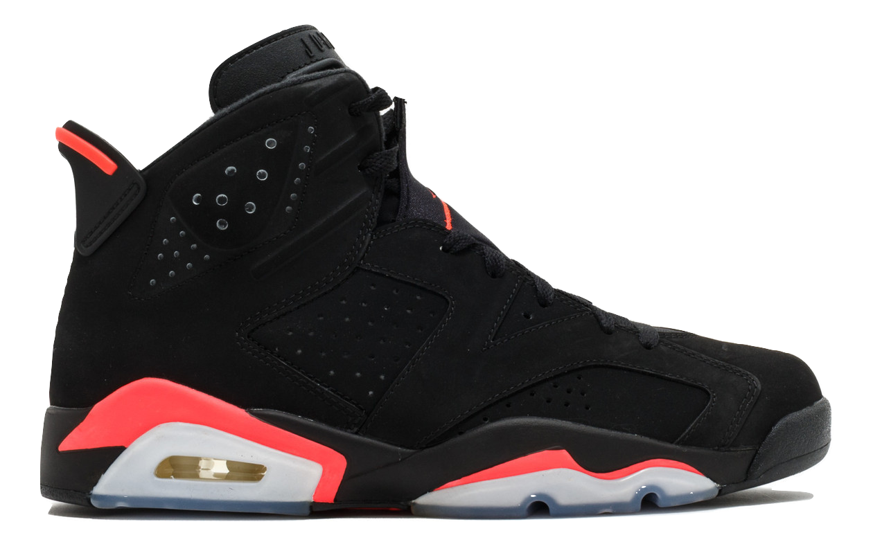 Air Jordan 6 Retro - Infrared (2014) - Black