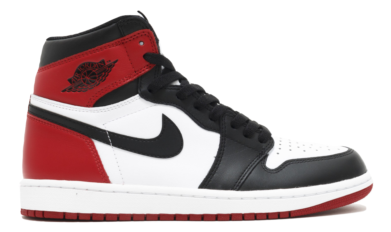Air Jordan 1 Retro High OG - Black Toe (2016) - Used