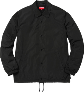 Supreme Old English Coaches Jacket Black