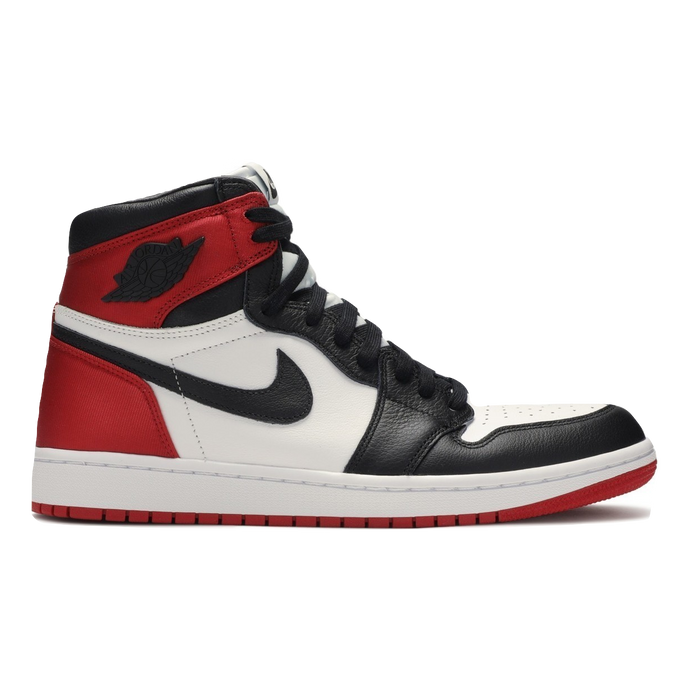 WMNS Air Jordan 1 Retro High - Satin Black Toe