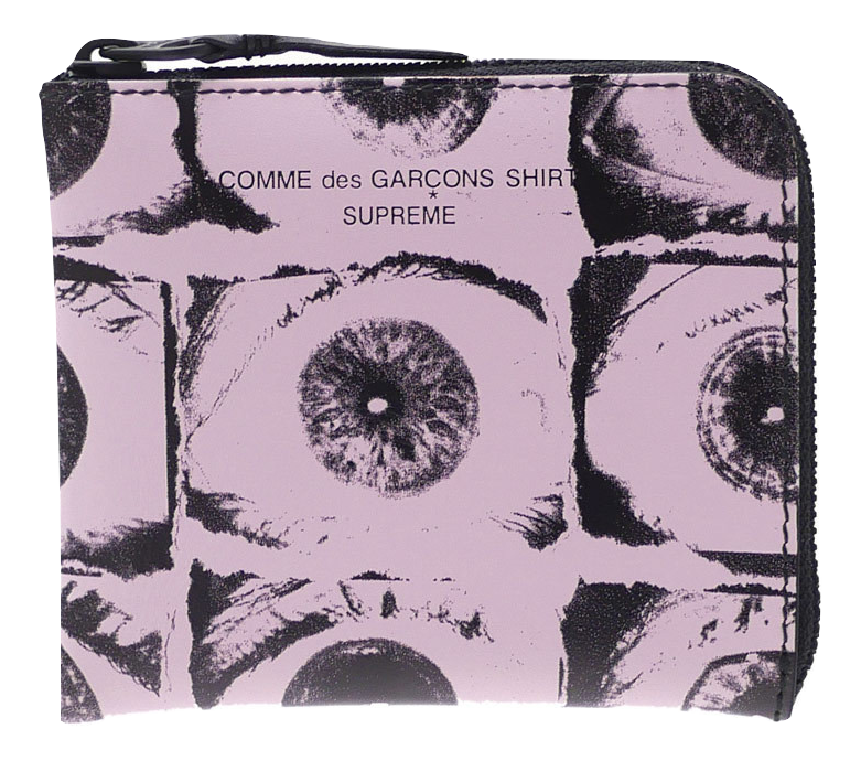 Supreme x CDG Eye Wallet - Pink