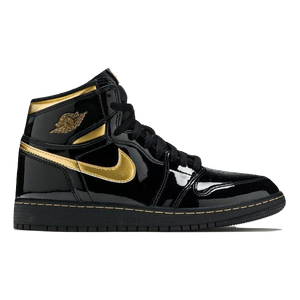Air Jordan 1 Retro High OG GS - Black Metallic Gold