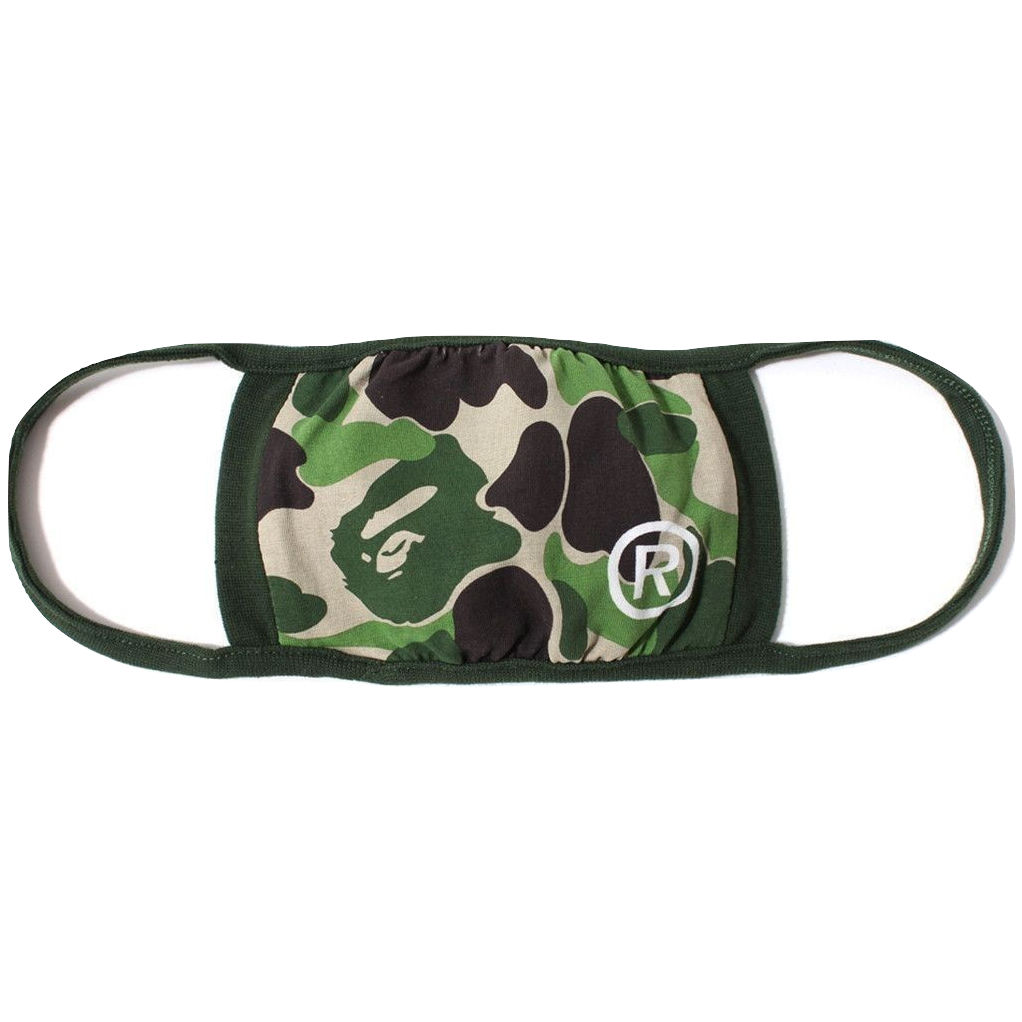 A Bathing Ape ABC Mask - Green