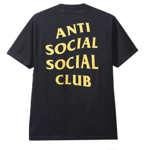 Anti Social Social Club Jdm Star Tee - Black