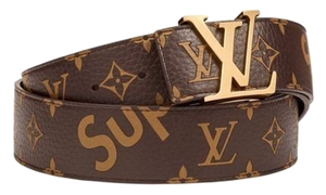 Supreme x Louis Vuitton Belt - Brown