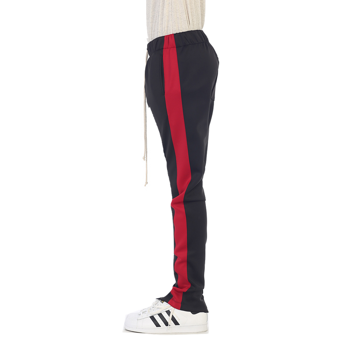 EPTM Track Pants - Black/Red