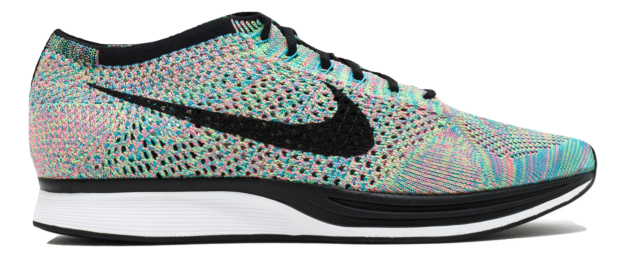 Nike Flyknit Racer - Multi Color